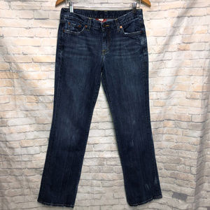 Lucky Brand Classic Rider Distressed Jeans 6/28
